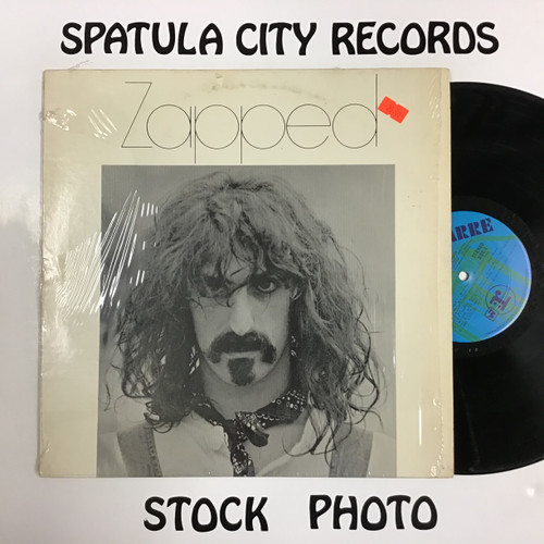 Zapped - compilation - vinyl record LP
