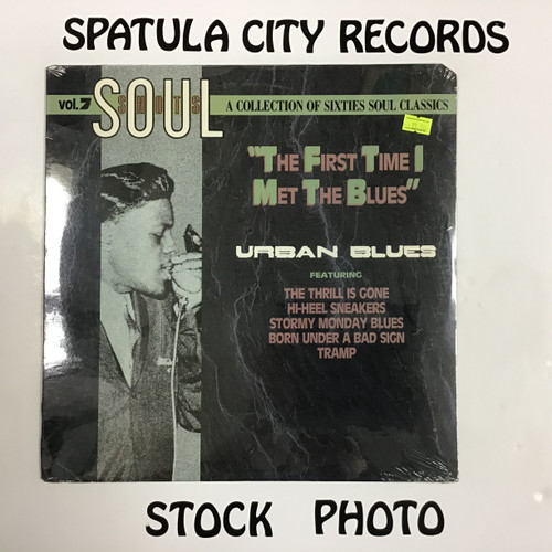 Soul Shots Volume 7 - The First Time I Heard the Blues - compilation - SEALED - vinyl record LP