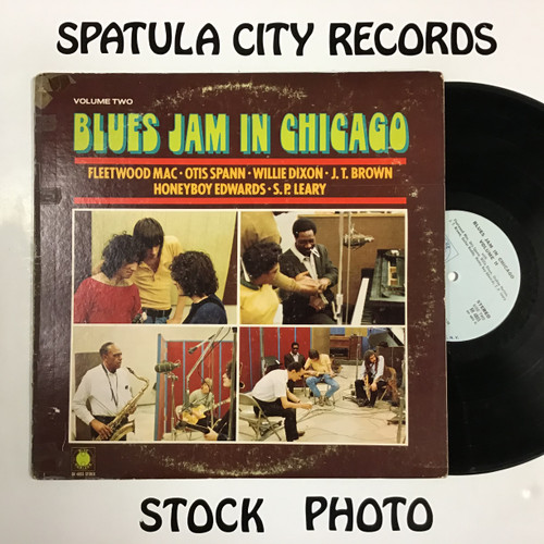 Blues Jam in Chicago Volume 2 - compilation - vinyl record LP