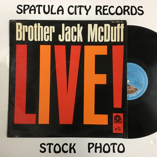 Brother Jack McDuff - Live - IMPORT - MONO - vinyl record LP