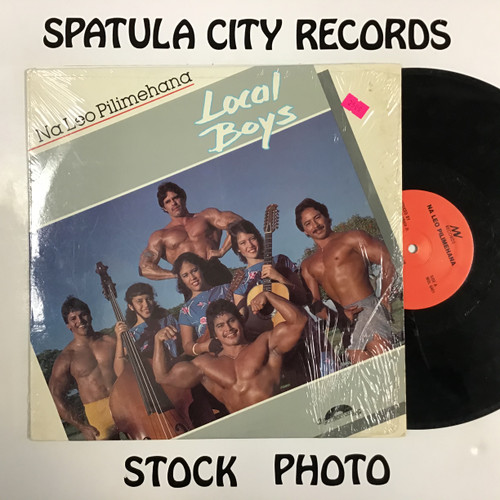 Na Leo Pilimehana - Local Boys - vinyl record LP
