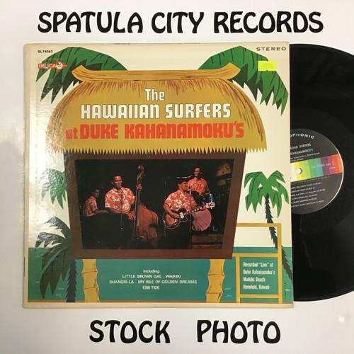 Hawaiian Surfers, The - The Hawaiian Surfers at Duke Kahanamoku's - vinyl record LP