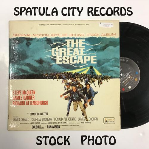 Elmer Bernstein - The Great Escape - soundtrack - vinyl record LP