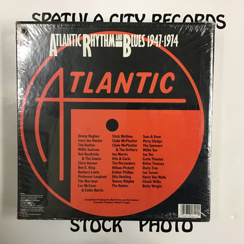 Atlantic Rhythm and Blues 1947 - 1974 - compilation - SEALED - 14x vinyl record LP