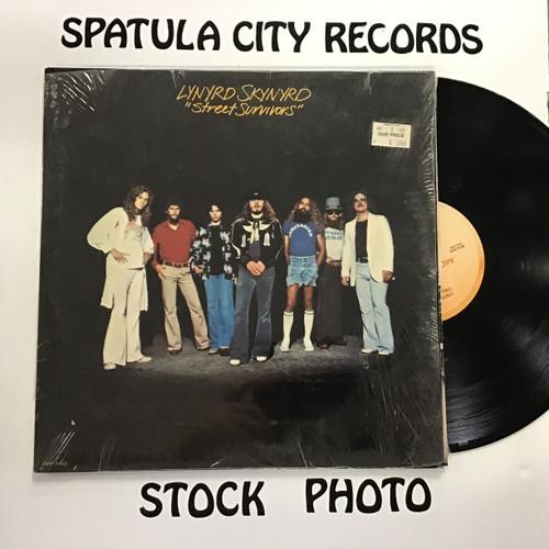 Lynyrd Skynyrd - Street Survivors (no flames) - vinyl record LP