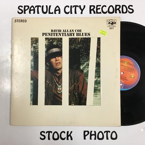 David Allan Coe - Penitentiary Blues - vinyl record LP