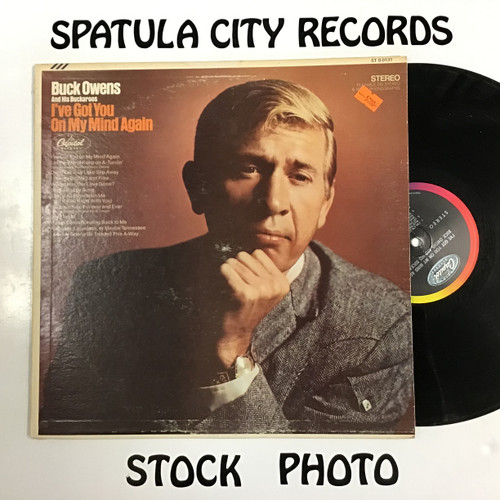 Buck Owens and the Buckaroos - I've Got You On My Mind Again - vinyl record LP