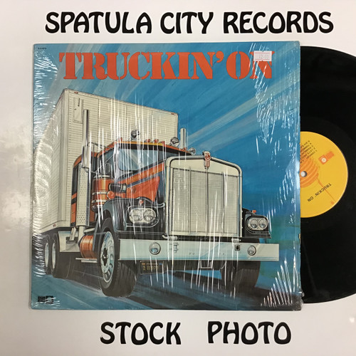 Truckin' On -compilation - double vinyl record LP