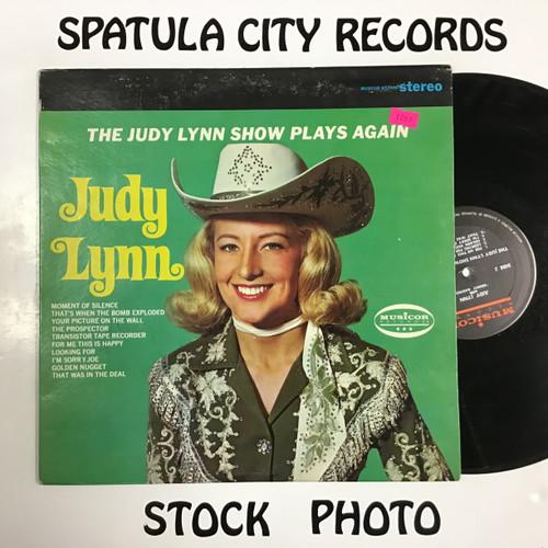 Judy Lynn - The Judy Lynn Show Plays Again - vinyl record LP