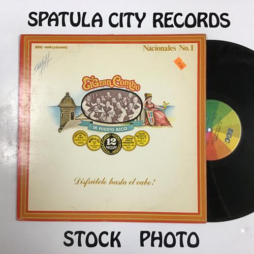 El Gran Combo - Disfrutelo Hasta El Cabo - vinyl record LP