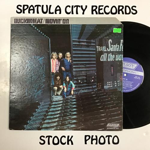 Buckwheat - Movin' On - vinyl record LP