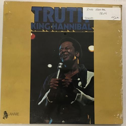 King Hannibal - Truth -SEALED Vinyl record