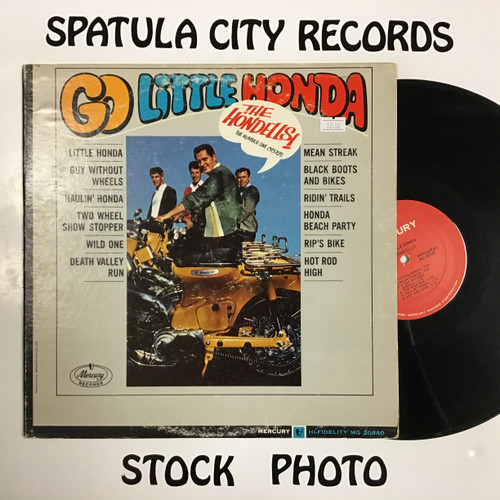 Hondells, The - Go Little Honda - MONO - vinyl record LP