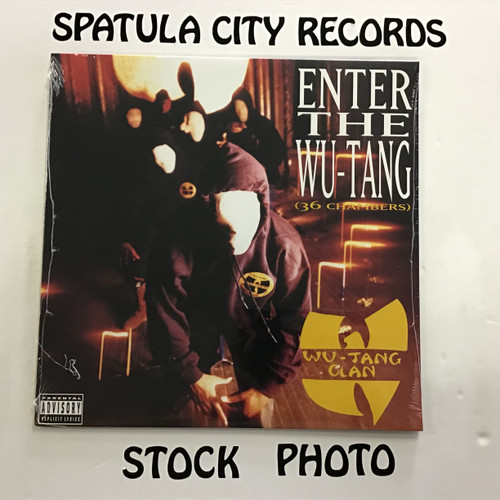 Wu-Tang Clan ‎– Enter The Wu-Tang (36 Chambers)  - 2017 SEALED REISSUE - vinyl record album LP