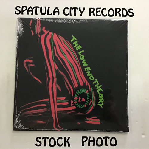 A Tribe Called Quest - The Low End Theory -  SEALED REISSUE - Double vinyl record album LP