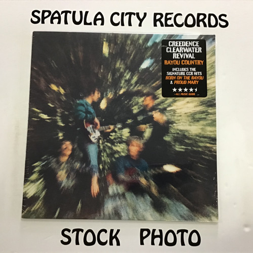 Creedence Clearwater Revival - Bayou Country - SEALED REISSUE - vinyl record album LP