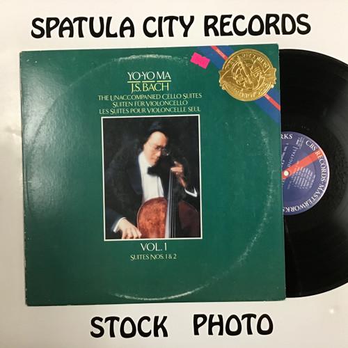 Yo-Yo Ma - J.S. Bach The Unaccompanied Cello Suites, Vol. 2 Suites Nos. 3 and 4 - vinyl record LP