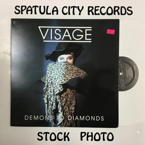 Visage - Demons to Diamonds - WHITE VINYL - vinyl record album  LP