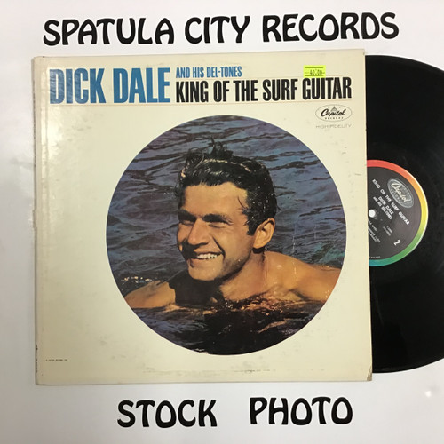 Dick Dale and His Del-Tones - King of the Surf Guitar - MONO - vinyl record LP