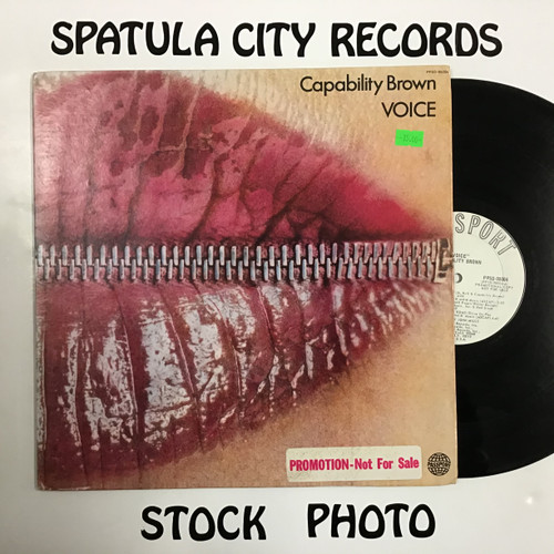 Capability Brown - Voice - WLP PROMO - vinyl record LP