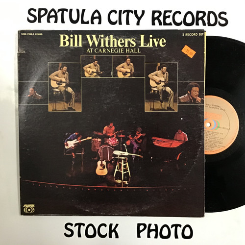 Bill Withers - Bill Withers Live at Carnegie Hall - double vinyl record LP