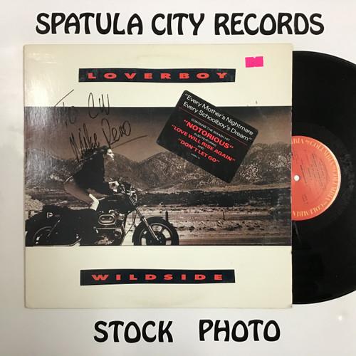 Loverboy - Wildside - AUTOGRAPHED - IMPORT - vinyl record LP