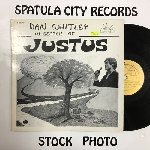 Dan Whitley - In Search of Justus - vinyl record LP