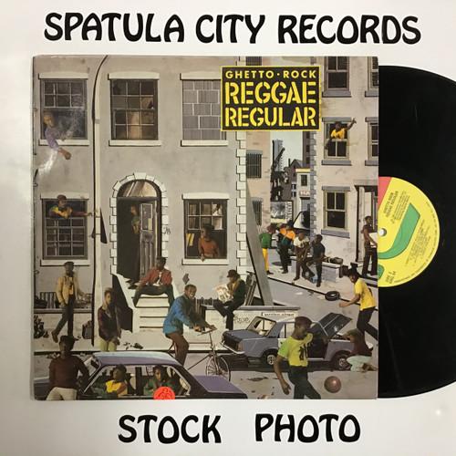 Reggae Regular - Ghetto Rock - vinyl record LP
