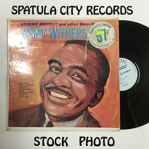 Jimmy Witherspoon - Stormy Monday and Other Blues - MONO - vinyl record LP