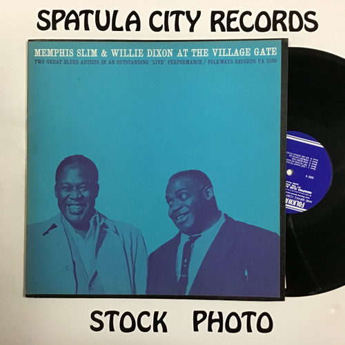Memphis Slim and Willie Dixon - Memphis Slim and Willie Dixon at the Village Gate - vinyl record LP