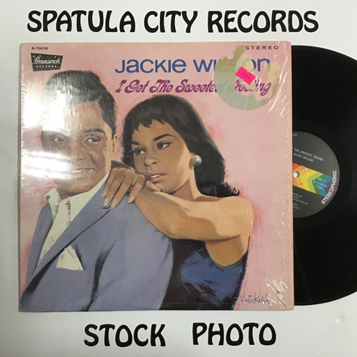 Jackie Wilson - I Get the Sweetest Feeling - vinyl record LP