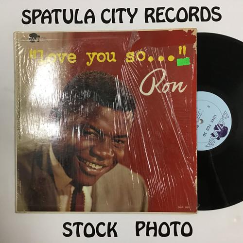 Ron Holden - Love You So... - MONO - vinyl record LP