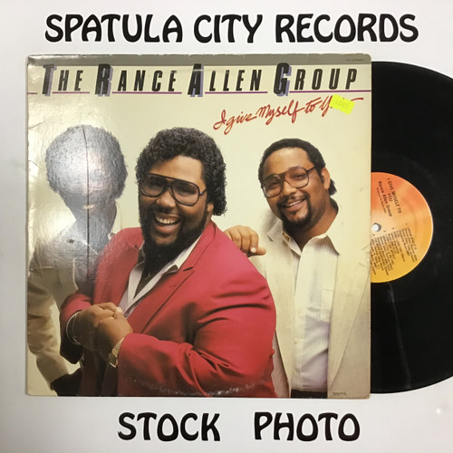 Rance Allen Group, The - I Give Myself To You - vinyl record LP