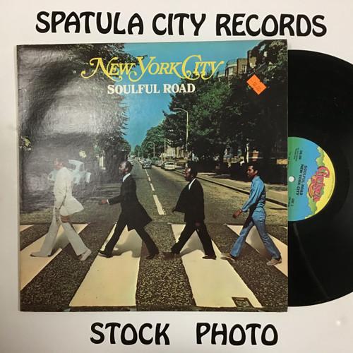 New York City - Soulful Road - vinyl record LP
