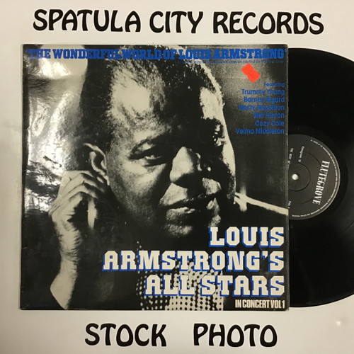 Louis Armstrong and His All Stars - The Best of Louis Armstrong's All Stars inn Concert - vinyl record LP