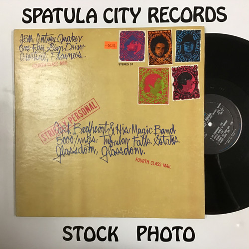 Captain Beefheart and His Magic Band - Strictly Personal - vinyl record LP