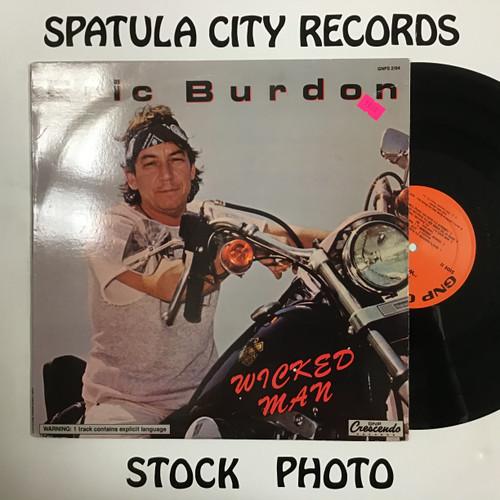 Eric Burdon - Wicked Man - vinyl record LP