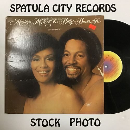 Marilyn McCoo and Billy Davis Jr. - The Two of Us - vinyl record LP