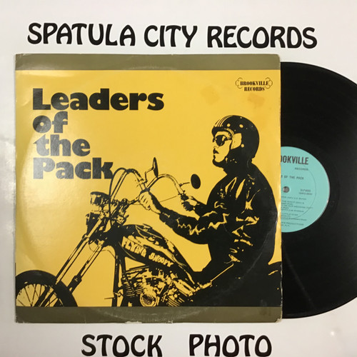 Leaders of the Pack - compilation - triple vinyl record LP
