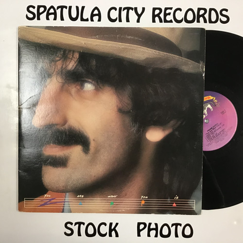 Frank Zappa - You Are What You Is - double vinyl record LP