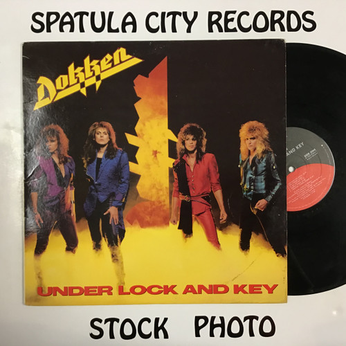 Dokken - Under Lock and Key - vinyl record LP