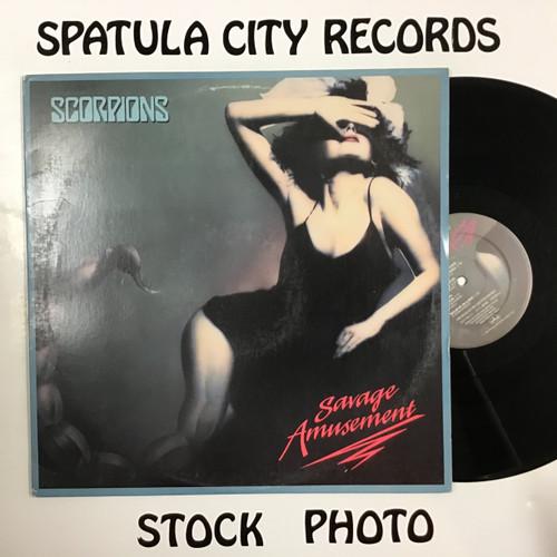 Scorpions - Savage Amusement - vinyl record LP