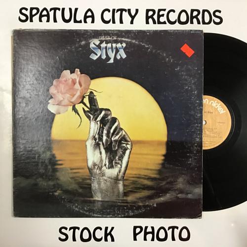 Styx - Best of Styx - vinyl record LP