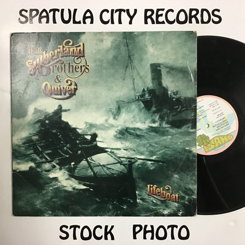 Sutherland Brothers and Quiver - Lifeboat - vinyl record LP