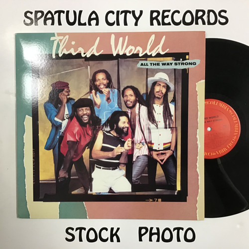 Third World - All The Way Strong - vinyl record LP
