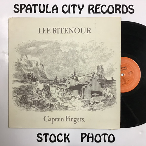 Lee Ritenour - Captain Fingers - vinyl record LP