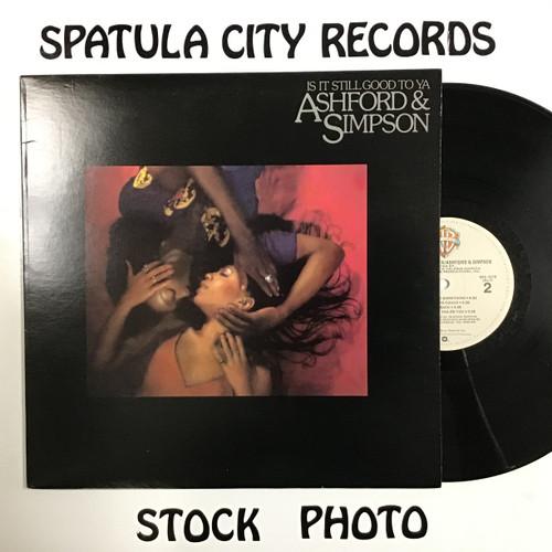 Ashford and Simpson - Is It Still Good To Ya - vinyl record LP