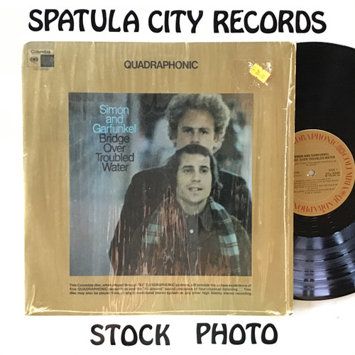 Simon and  Garfunkel - Bridge Over Troubled  Water - Quadaphonic - Vinyl record LP