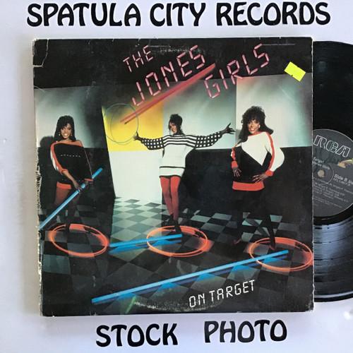 Jones Girls, The - On Target - vinyl record LP