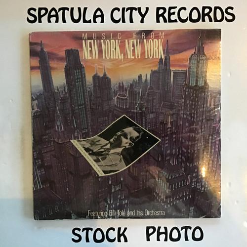 Bill Tole - Music From New York, New York - SEALED - vinyl record LP